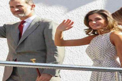 La Reina Letizia pisa Andalucía y se pone inmediatamente 'flamenca'