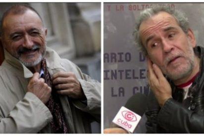 La última barrabasada del siniestro antisistema Willy Toledo: ver a Arturo Pérez-Reverte reventado contra el suelo