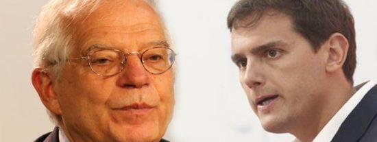 Albert Rivera deja con el culo al aire a Sánchez y a Borrell con las embajadas catalanas