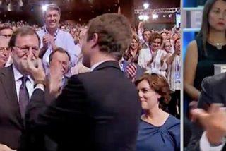 """Rivera intenta recuperar el terreno perdido menospreciando al """"partido conservador"""" (PP) y a su nuevo líder: """"Casado es más de lo mismo, fue portavoz de Rajoy"""""""