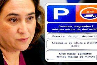La multa de tráfico que han estampado en la cara de Colau por pasarse de frenada con el catalán