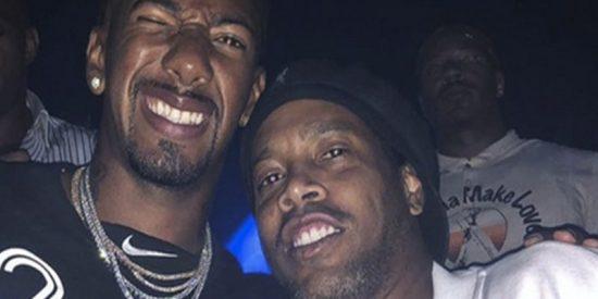 Las imágenes de la lujosa fiesta que se montaron Ronaldinho y Mayweather en Miami