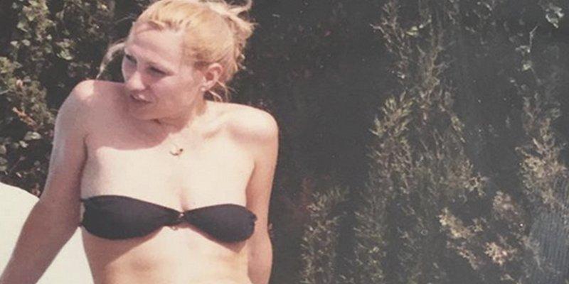 Rosa Benito posa en bikini