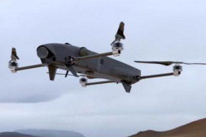 Así es Rotem, el drone israelí que puede lanzarse como kamikaze