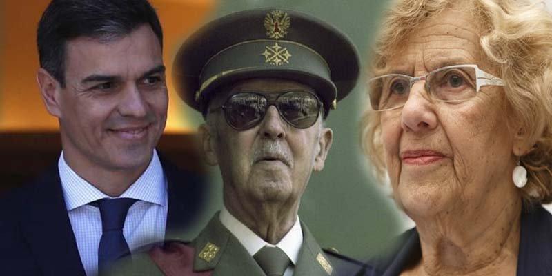 Sánchez y Carmena no pueden meter a Franco en la cripta de El Pardo sin permiso de los nietos del dictador