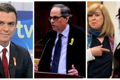 Pirulí que te vi: Sánchez regala RTVE con un lazo amarillo y enchufando a consejeras gritonas y chocarreras