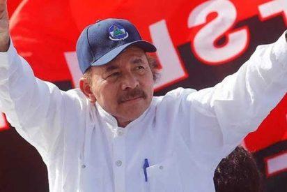 Multitudinaria marcha en apoyo a la revolución sandinista en Nicaragua