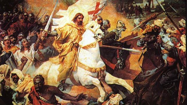 ¡Santiago y cierra España!