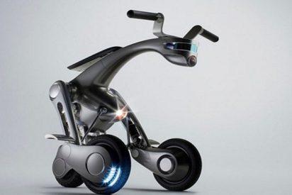 ¡Este scooter japonés se mueve sin necesidad de un humano!