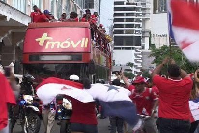 Así fue el recibimiento a la selección panameña tras su eliminación en el Mundial 2018