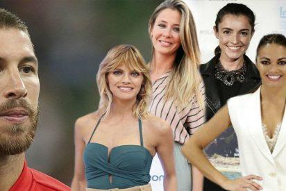 La larga lista de ex novias que deja atrás el cachas Sergio Ramos antes de casarse con la bella Pilar Rubio