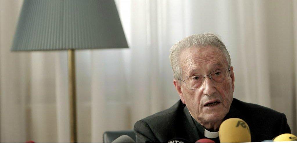 """José María Setién, """"el crucificado"""""""