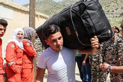 Así regresan a sus hogares desde el Líbano los sirios desplazados