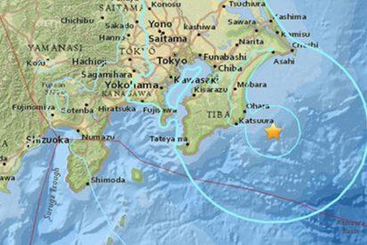 Sismo de magnitud 5,9 se registra en Japón