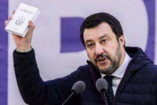 Mateo Salvini propone ahora imponer la presencia del crucifijo en edificios públicos