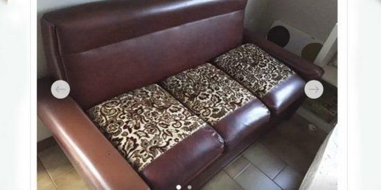 Venden en Wallapop este 'Sofá de abuela por 40 euros'... ¿Lo quieres?