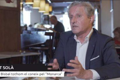 """La tabernaria entrevista en TV3 al hijo ilegítimo catalán de don Juan Carlos: """"Le dije que era un enfermo"""""""