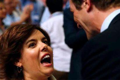 El duelo de aplausos entre los equipos de Santamaría y Casado