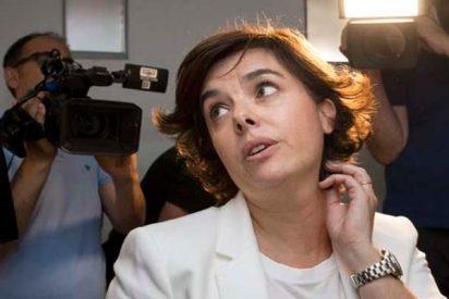"""""""¡No me apoyes, compadre!"""" Soraya luchó (y ganó) para no ser relacionada con el aparato del PP"""