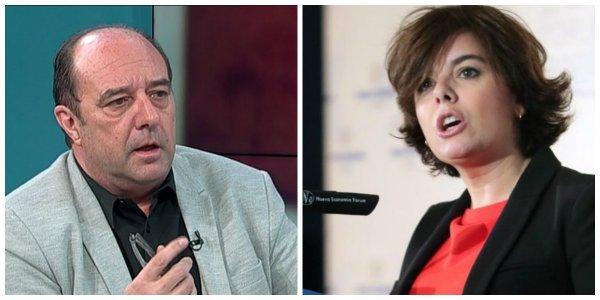"""La izquierda hace campaña por Soraya: Infolibre dice que """"Casado no puede ser presidente del PP"""""""