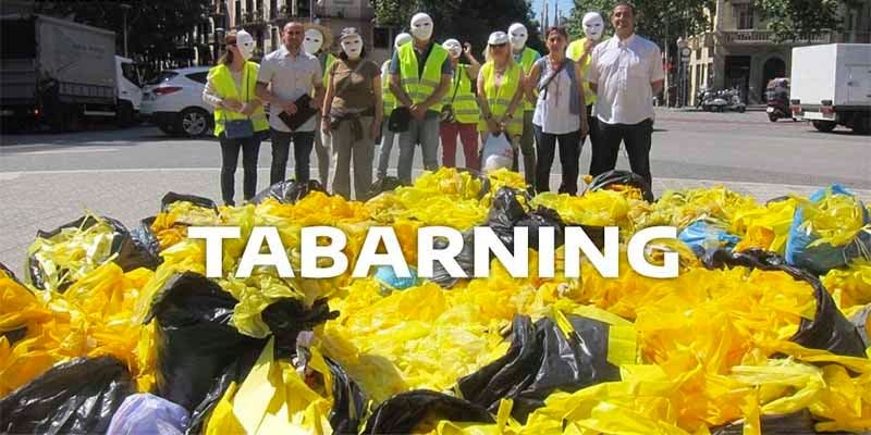 Surge un nuevo deporte en Cataluña: el 'tabarning'