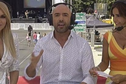 La pillada histórica a este periodista de Telemadrid en plena retransmisión del Orgullo