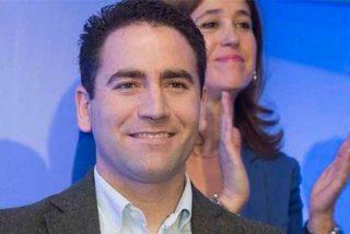 Teodoro García, el nuevo número dos del PP, fue campeón mundial de lanzamiento de hueso de aceituna