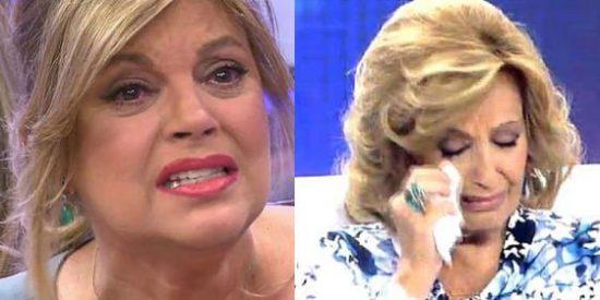Pelea brutal entre María Teresa Campos y Telecinco por dejar sin sueldo a Terelu