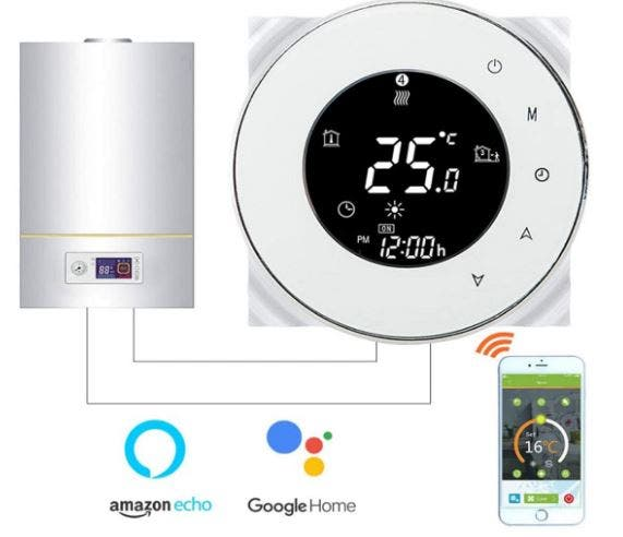 Termostato Inteligente para caldera de gas/agua,
