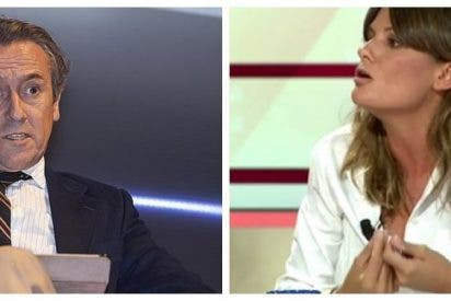 """Hermann Tertsch destroza a Pilar Gómez: """"Niñata, cacatúa de la siniestra Sáenz de Santamaría"""""""