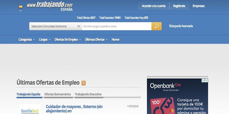 Trabajo y Empleo Trabajando.es
