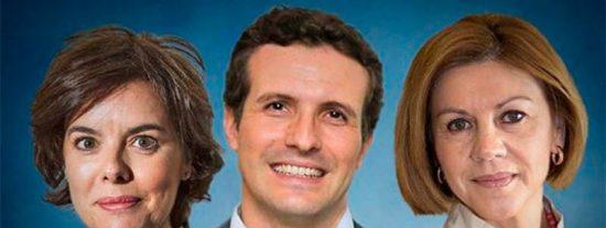 Pablo Casado se perfila como ganador en la recta final de la carrera por liderar el PP