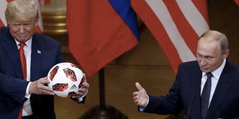 ¿Sabías que el balón del Mundial que Putin regaló a Trump contenía un chip transmisor?