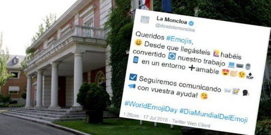 La Moncloa de Sánchez publica este ridículo tuit y luego lo retira ante el cachondeo en las redes