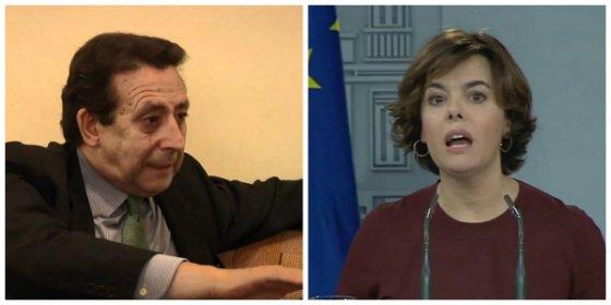 Alfonso Ussía hunde la candidatura de Soraya moliendo a palos al 'joven' Arenas y al pesetero Pedro Arriola