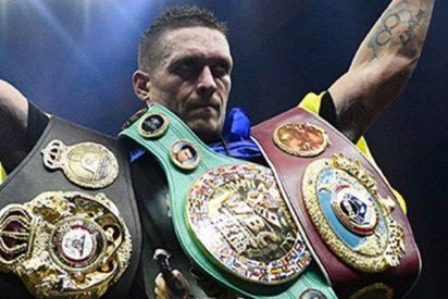 Usyk gana la Súper Serie Mundial de boxeo