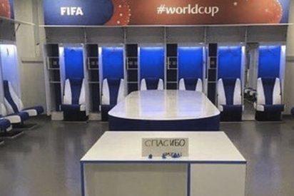 Esta foto del vestuario de la selección japonesa está dando la vuelta al mundo