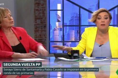 """Villalobos le para los pies a Cristina Pardo con un fenomental broncazo: """"No me gusta la manipulación"""""""