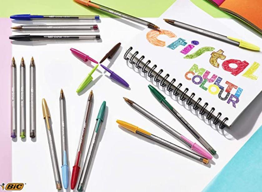 material escolar bolis de colores bic