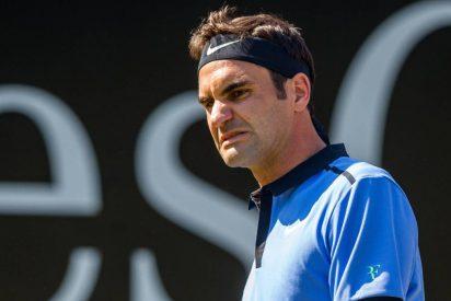 """El 'reto' de Roger Federer al árbitro: """"Pide perdón y listo"""""""