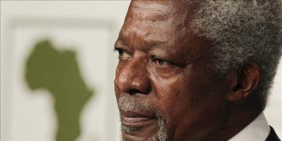 """Juan de Dios Ramírez-Heredia: """"Un día, Kofi Annan me regaló lo más valioso que tenía al alcance de su mano... tiempo"""