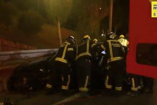 Un loco kamikaze siembra el caos en Madrid y deja ocho heridos en la M-30