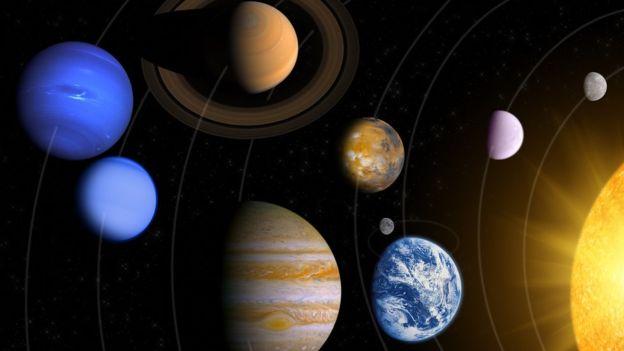Han catalogado la luz de 19 objetos del sistema solar para conocer otros mundos