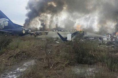 Gobernador mexicano dice que la causa del accidente aéreo fueron las fuertes ráfagas de viento