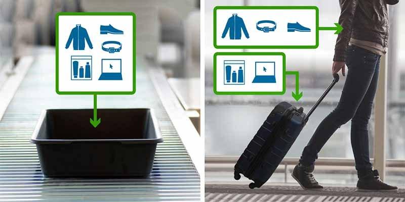 Aeropuertos: Descubren cómo registrar tu equipaje sin tocarlo usando una red WiFi