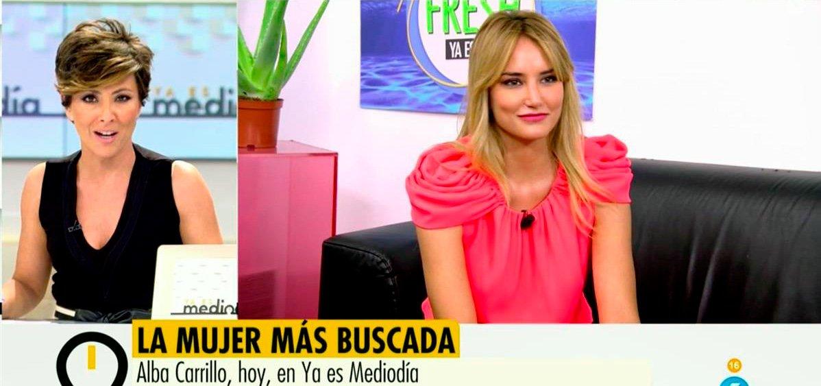 Alba Carrillo ficha por el programa de Sonsoles Ónega tras plantar al 'Deluxe'