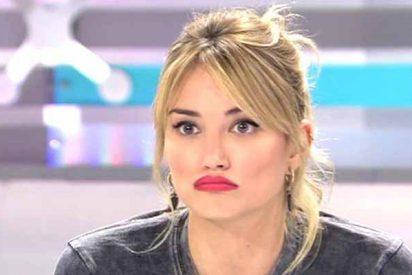 'Telecinco': La feroz Alba Carrillo pide perdón a la audiencia tras irse llorando de 'Ya es mediodía'