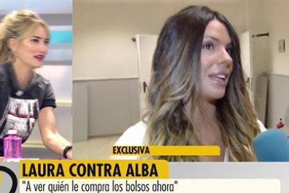 El show de Alba Carrillo llega al clímax: se va del plató de Telecinco por su pelea con Laura Matamoros