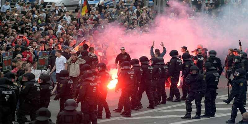 Alemania: La muerte a cuchilladas de un hombre en una discusión desata la persecución neonazi de extranjeros