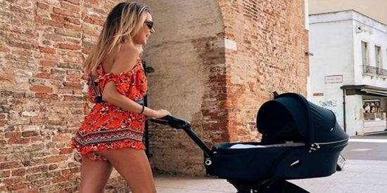 Alice Campello estupenda tras ser mamá de gemelos